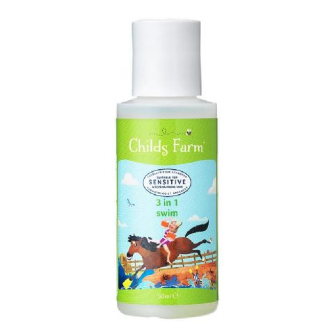 Childs Farm Travel Size Strawberry And Mint 3 in 1 Swim